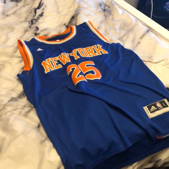 best service 7827a 4ae95 Stitched Knicks Jersey